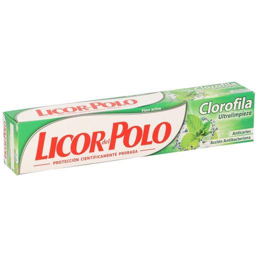 LICOR DEL POLO pasta dentífrica clorofila tubo 75 ml