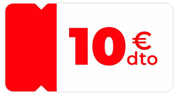 Llévate 10€ de descuento en tu compra online en dia.es