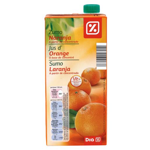 DIA zumo naranja envase 1 lt