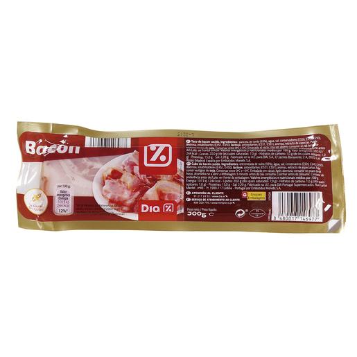 DIA taco de bacon envase 300 gr