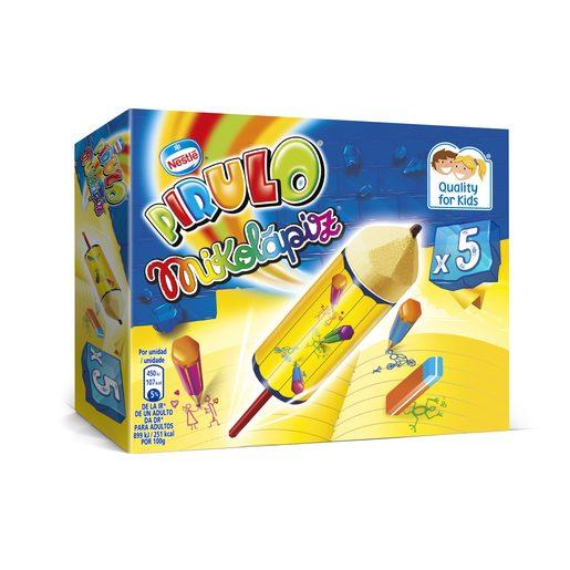 NESTLE helado pirulo mikolápiz caja 5 uds de 50 gr