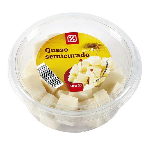 DIA dados de queso semicurado tarrina 150 gr