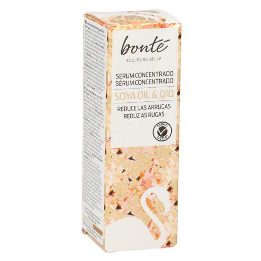 BONTE serum concentrado Q10 antiarrugas con aceite de soya dosificador 30 ml