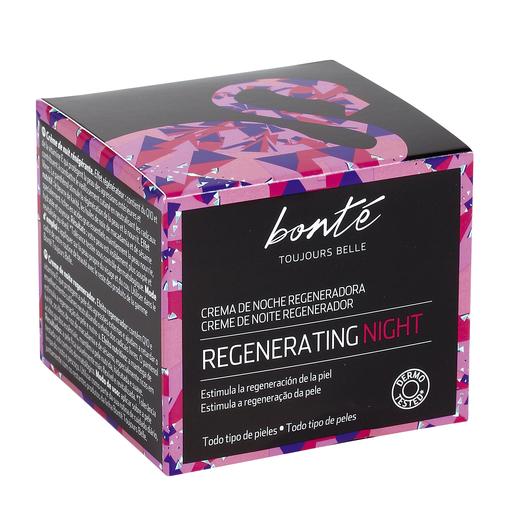 BONTE crema de noche regeneradora todo tipo de pieles tarro 50 ml
