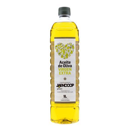 JAENCOOP aceite de oliva virgen extra botella 1 lt