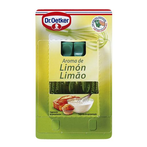 DR. OETKER aroma limón caja 4 uds