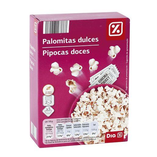 DIA palomitas dulces caja 300 gr