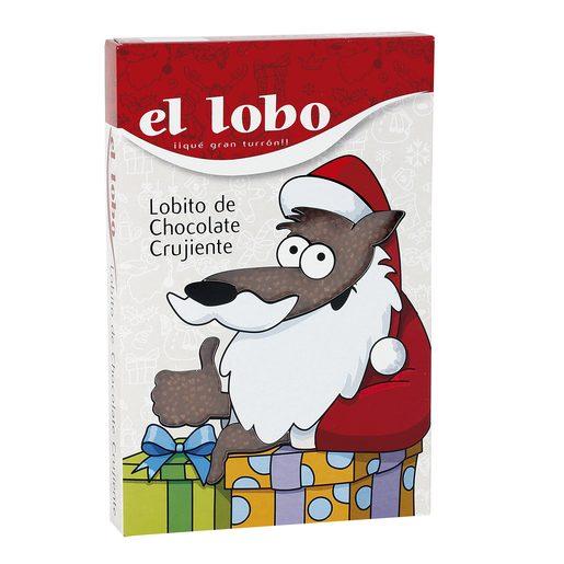 EL LOBO turrón de chocolate crujiente estuche 200 gr