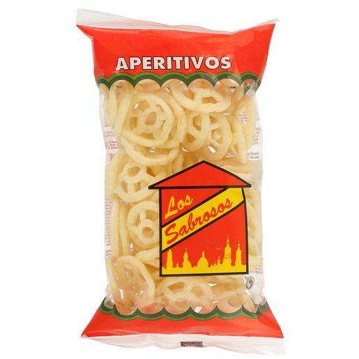LOS SABROSOS aperitivo ruedas bolsa 50 gr
