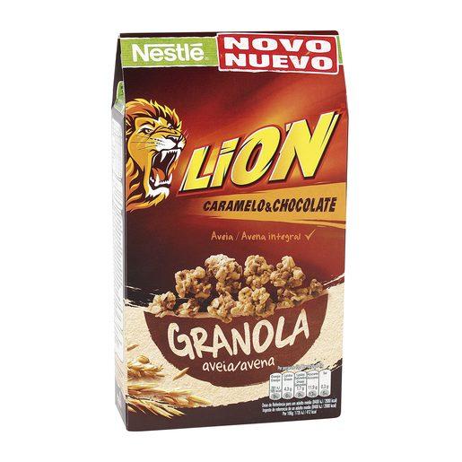 NESTLE cereales lion granola avena caja 300 gr