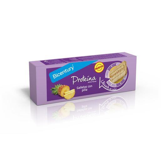 BICENTURY galletas proteína con piña paquete 144 gr