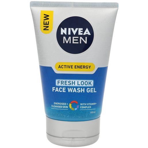 NIVEA Men gel limpiador active energy tubo 100 ml