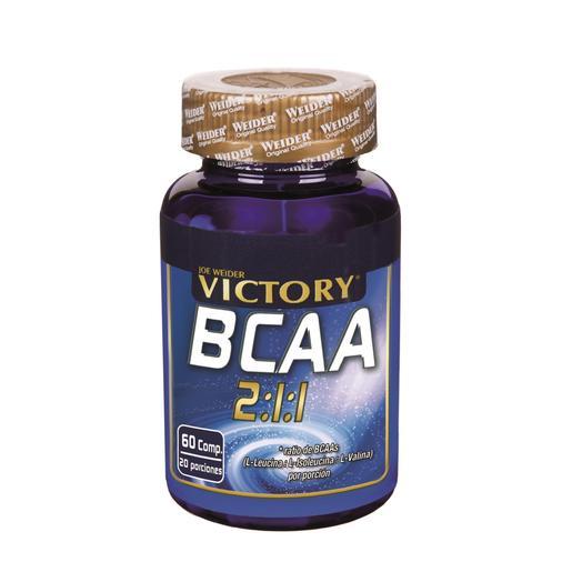 VICTORY bcca 2:1:1 envase 60 cápsulas