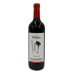 VIÑA DANZA vino tinto joven DO Valdepeñas botella 75 cl