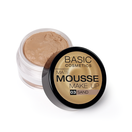 BASIC Mate Mousse base de maquillaje matificante 3 Sand