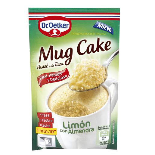DR. OETKER mug cake de limón con almendra estuche 65 gr
