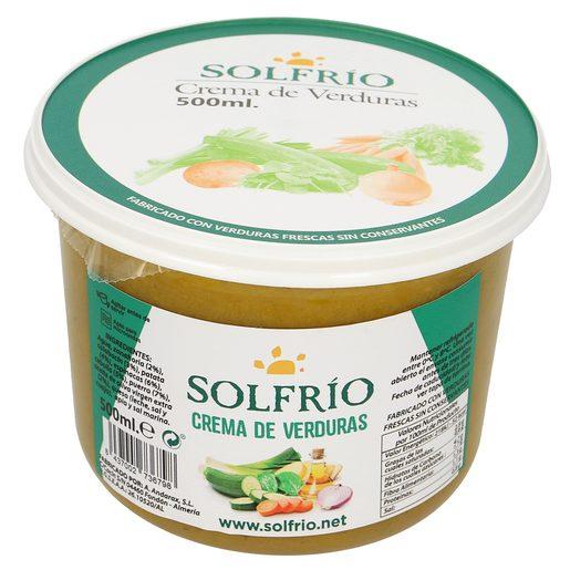 Crema de verduras 500 ml