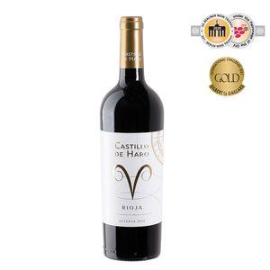 CASTILLO DE HARO vino tinto reserva DO Rioja botella 75 cl