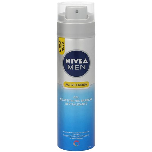 NIVEA Men gel de afeitar revitalizante spray 200 ml