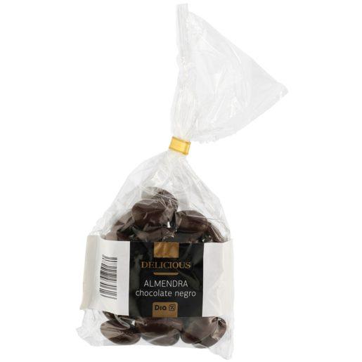 DIA DELICIOUS almendras recubiertas de chocolate negro 120 gr