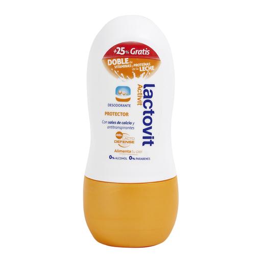 LACTOVIT desodorante protector activit roll on 50 ml
