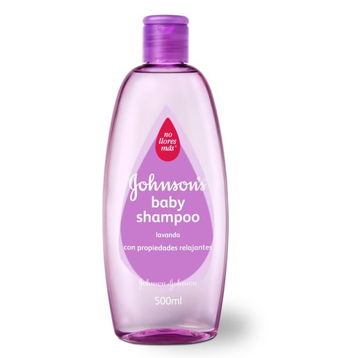 JOHNSON?S Baby champú lavanda bote 500 ml