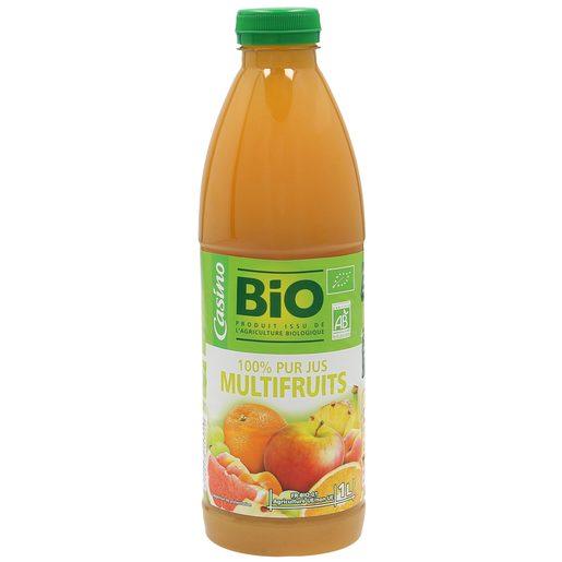 CASINO BIO zumo multifrutas botella 1 lt