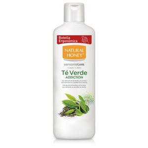 NATURAL HONEY gel de ducha té verde addition bote 650 ml