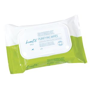 BONTE toallitas desmaquillantes para pieles grasas efecto purificante envase 20 uds