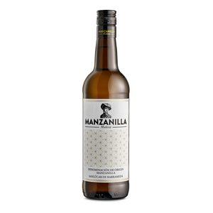 MUÑECA vino blanco manzanilla botella 75 cl