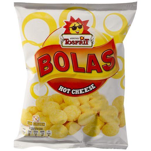TOSFRIT bolas hot cheese bolsa 25 GR