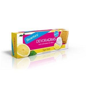 BICENTURY galleta devoragras con yogur limón paquete 160 gr