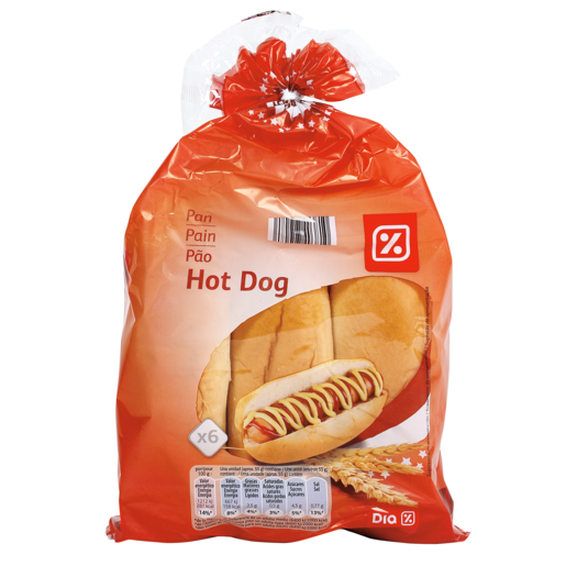 DIA panecillos para perritos 6 unidades bolsa 330 gr