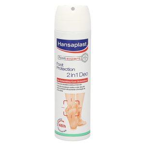 HANSAPLAST desodorante antibacteriano 2 en 1 para pies spray 150 ml