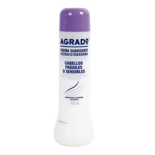 AGRADO acondicionador para cabellos frágiles y sensibles bote 750 ml