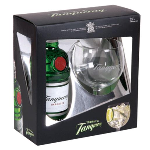 TANQUERAY ginebra inglesa botella 70 cl + copa de regalo