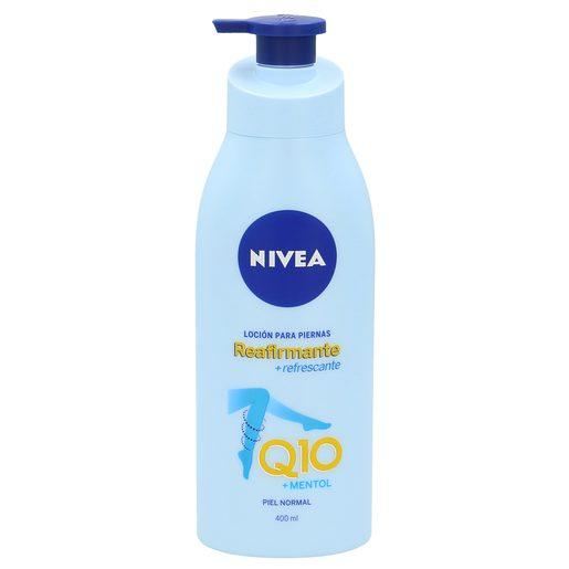 NIVEA Q10 loción para piernas reafirmante piel normal dosificador 400 ml