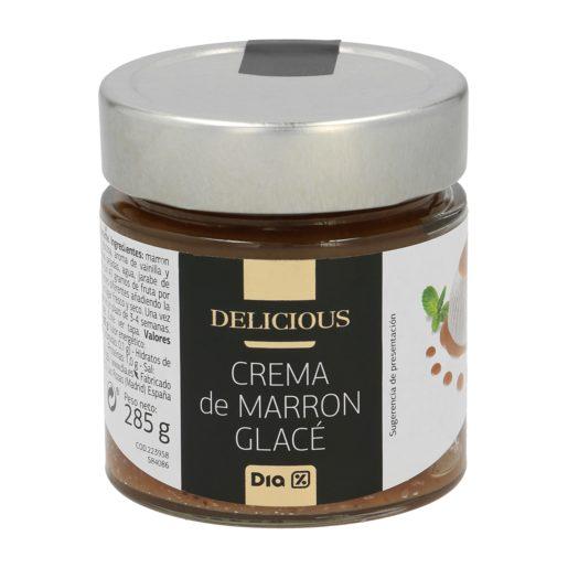 DIA DELICIOUS crema de marrón glacé frasco 285 gr