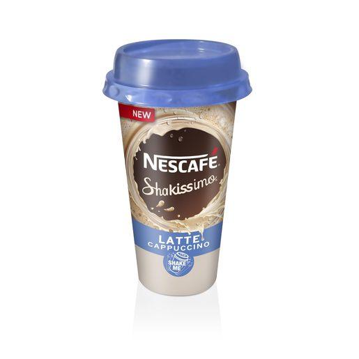 NESCAFE Shakissimo sabor latte capuccino vaso 190 ml