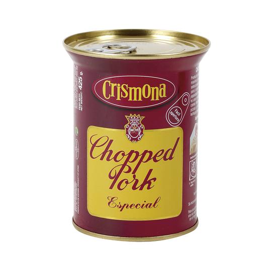 CRISMONA chopped pork especial lata 425GR