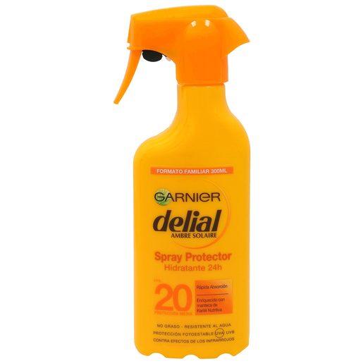 DELIAL Ambre solaire protector solar hidratante spf 20 pistola 300 ml