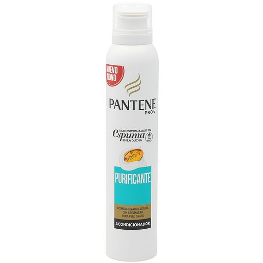 PANTENE Pro-v acondicionador en espuma purificante spray 180 ml