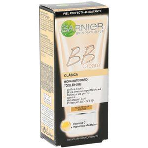 GARNIER BB cream clásica hidratante diario tono medio tubo 50 ml