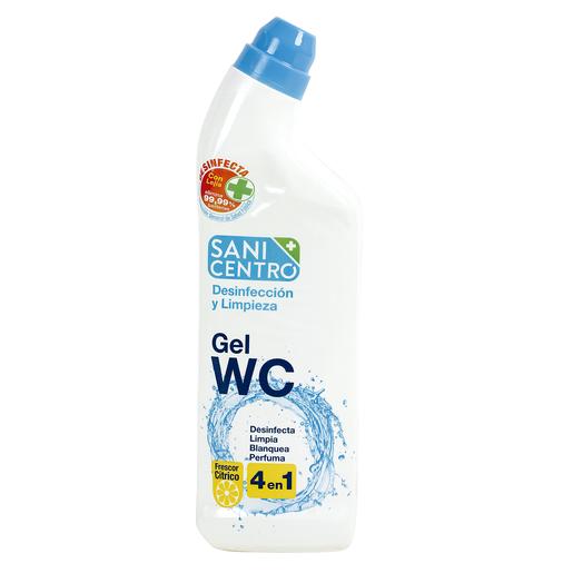 SANICENTRO gel limpiador wc 4 en 1 botella 1 lt