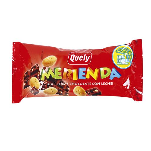 QUELY Merienda quelitas y chocolate con leche 60 gr