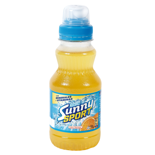 SUNNY Sport naranja botella 31 cl