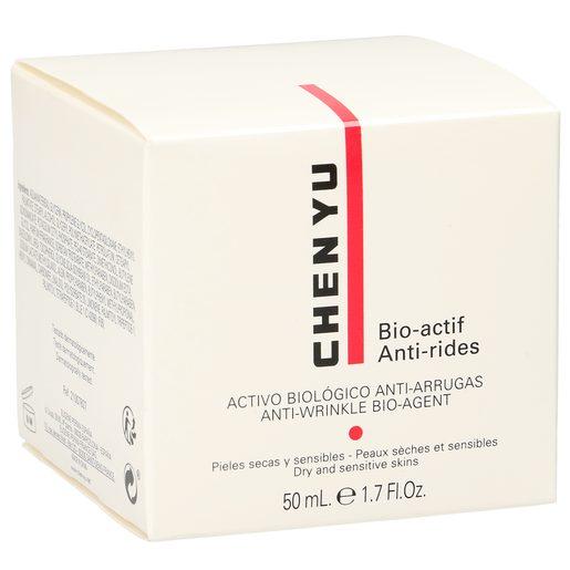 CHEN YU Bio actif crema antiarrugas pieles secas y sensibles tarro 50 ml