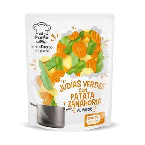 DIA AL PUNTO judía verde con patata y zanahoria bolsa 250 gr