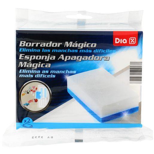 DIA esponja borrador mágico envase 2 uds