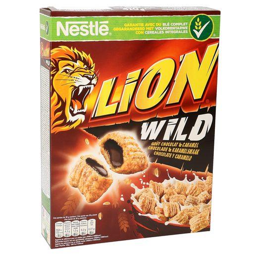 NESTLE cereales lion wild caja 410 gr